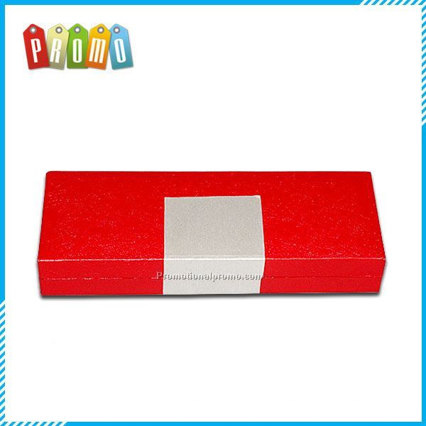 Elegant customised handmade plastics paper red recycled cardboard pen boxes