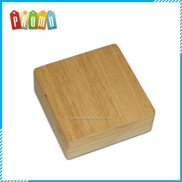 Customized Small Natural Wooden Box