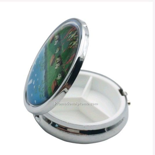 Promotional Plastic Pill box with customized logo