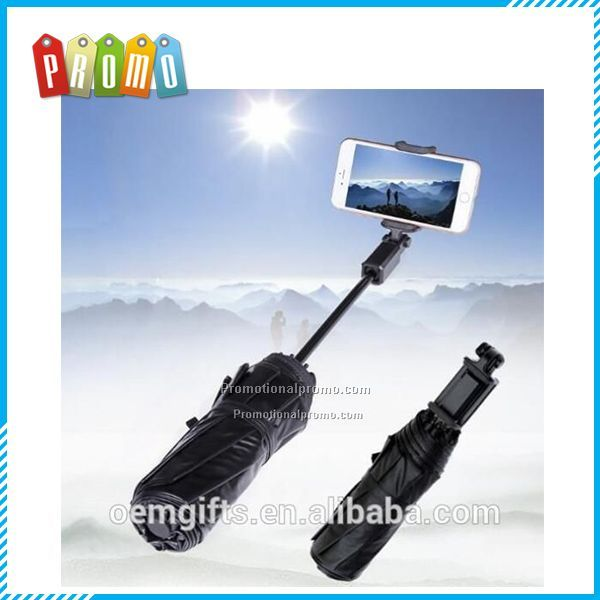 New Creative Bluetooth Selfie Stick Umbrella Women Sun Rain Anti UV Sunscreen Umbrella