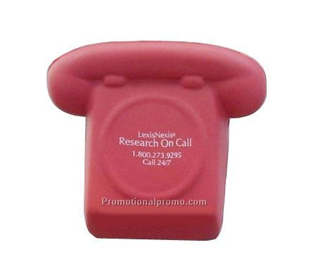 Telephone shape stress ball