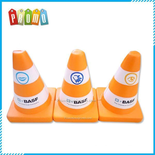 Traffic Cone PU Stress toy