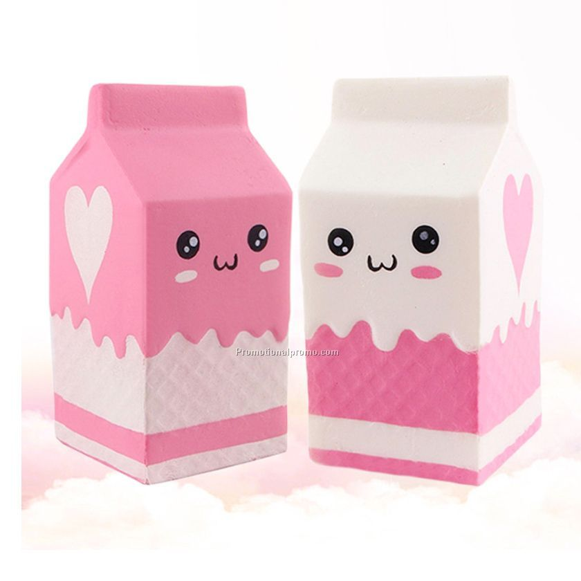 Hand stress Slow rising milk carton toy