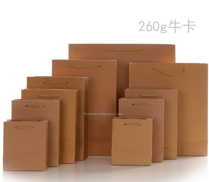 Promotion Kraft Paper bag with logo