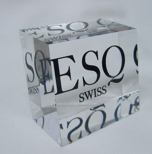 Cube Paperweight C-635