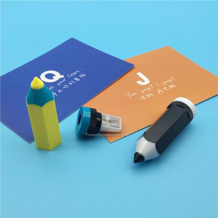 Plastic Pencial shaped Sharpener