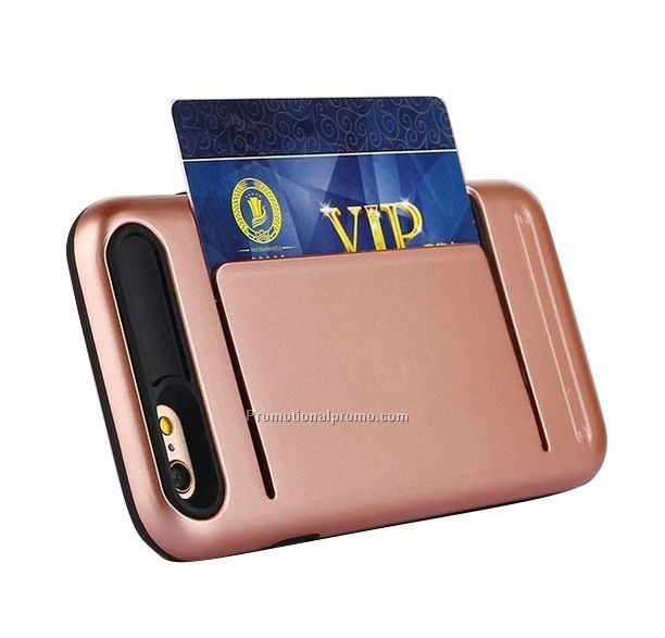 Hot new protective card holder case cover for iPhone 7