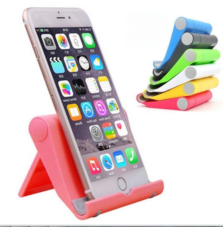 Multi-function folding anti-slip phone holder