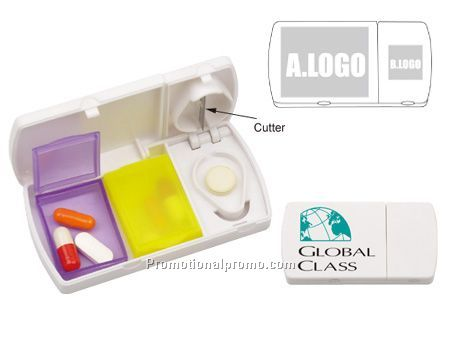 Plastic Multi-functional Pill Box