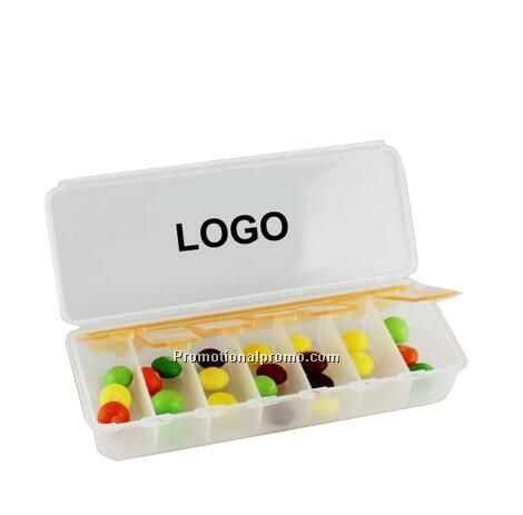 Wholesale 7 Days Plastic Pill Box, pill case