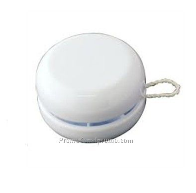Plastic white yoyo ball