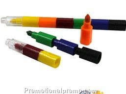 Wax crayons��6colors-in-1