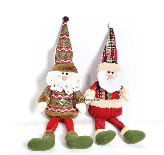 Cute Christmas Children's Cloth plush toy doll mascot