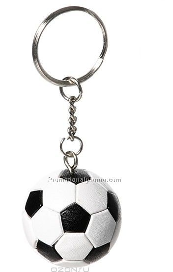 Promotional PVC Soccer ball Keychain