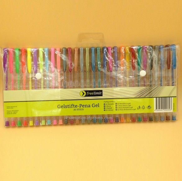 30 Pack Gel Pen 0.7mm