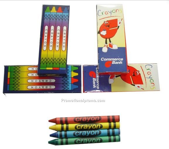 child��s wax crayon set in a box