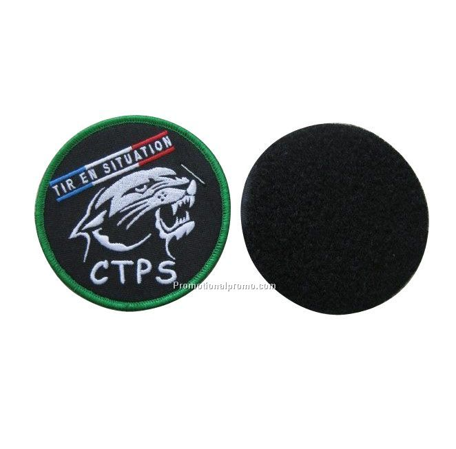 PATCHES WITH VELCRO BACKING