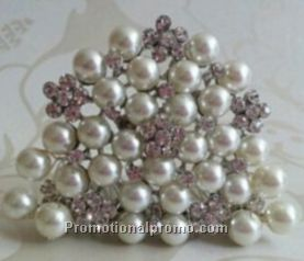 Promotional Pearl Tiaras for Christmas Gifts