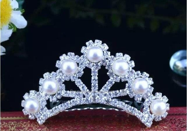 Promotional Pearls Tiaras