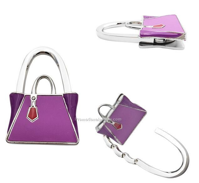 Fashion Bag Shaped Folding Purse hook for beauty gift