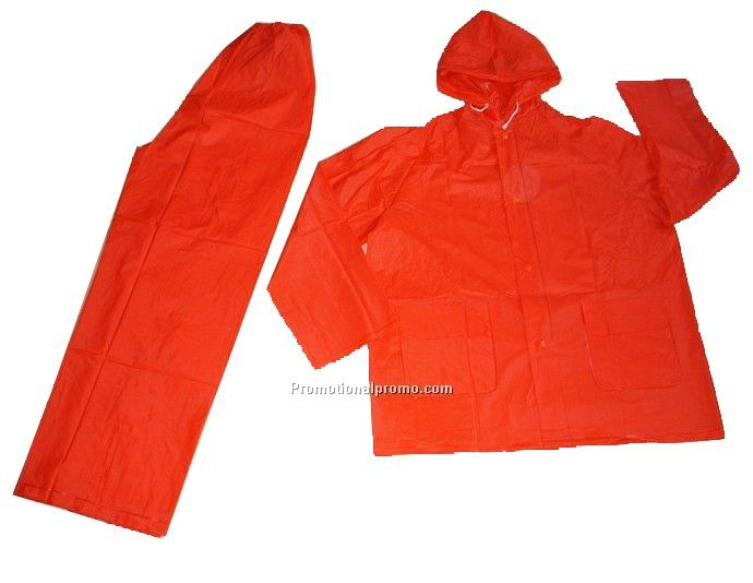 PVC raincoat set