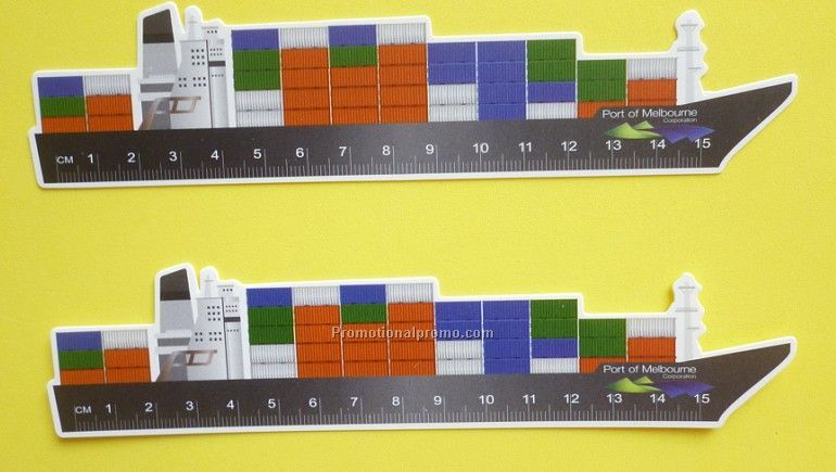 PVC Fire Trucker Ruler