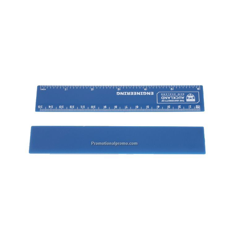 OEMPROMO 15cm plastic advertising scale straight ruler