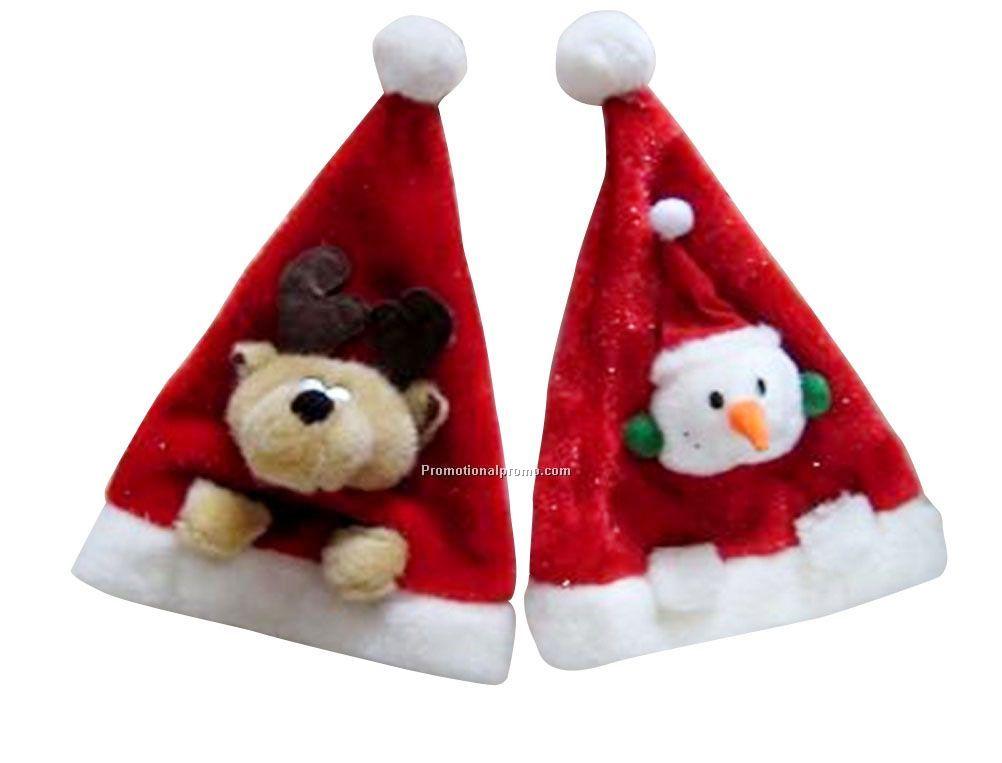 3476226db52eb Plush Santa Hat