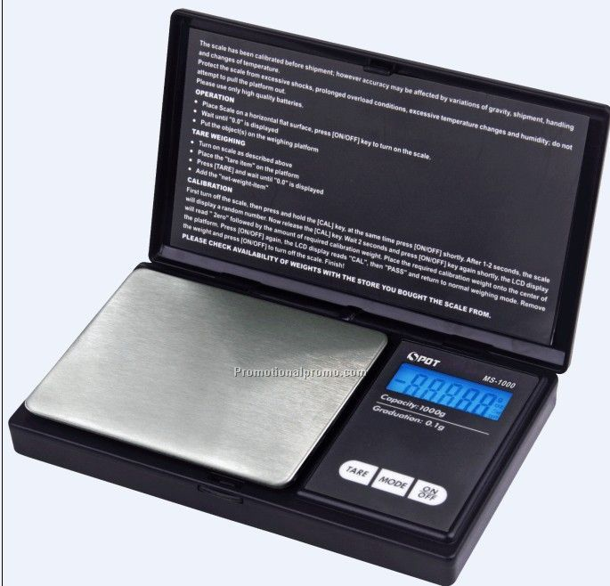 Customized Slim digital pocket scale