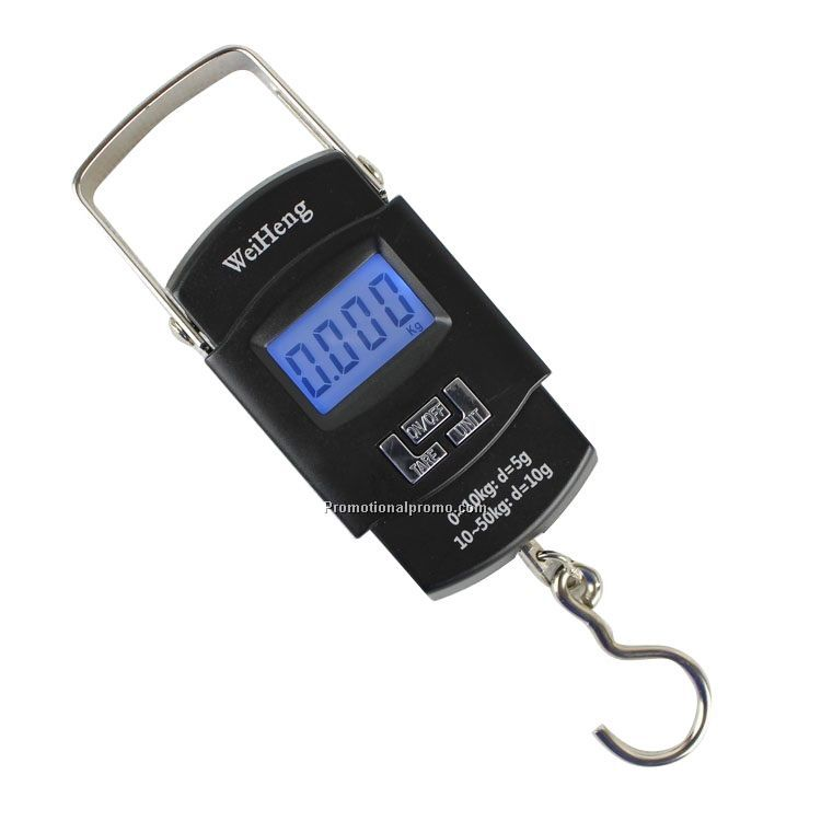 Newest Portable Digital Luggage Scale 50KG Handle Hook Scale KG LB OZ JIN