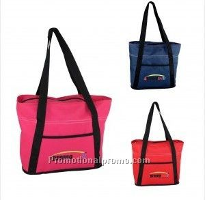 Poly 600D Strapped Tote Bag
