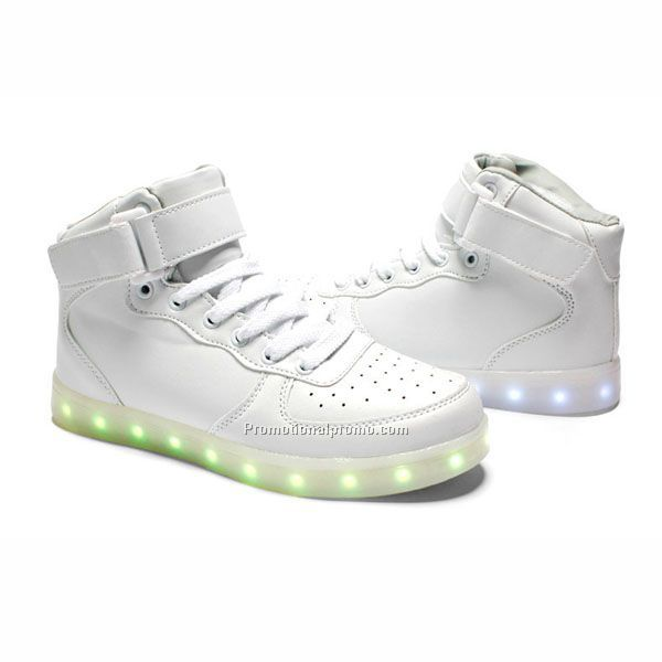 Fashion PU Unisex LED Shoe