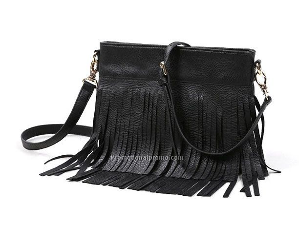 women pu tassel bags mini pu handbags
