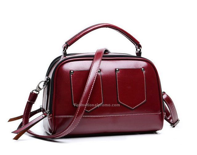 China Manufacturer lady leather handbag