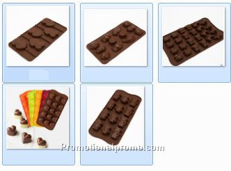 100% Food Grade Silicone Chocolate Mold