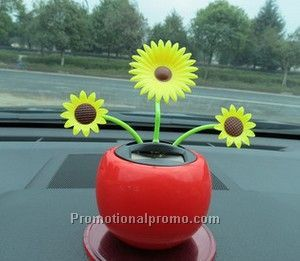 Automotive Solar Energy Dancing flower For Promotion