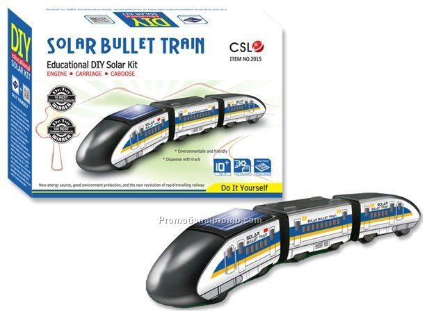 Educational solar high-speed train
