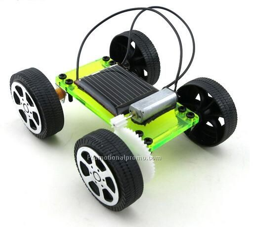 Simple DIY solar toy solar car