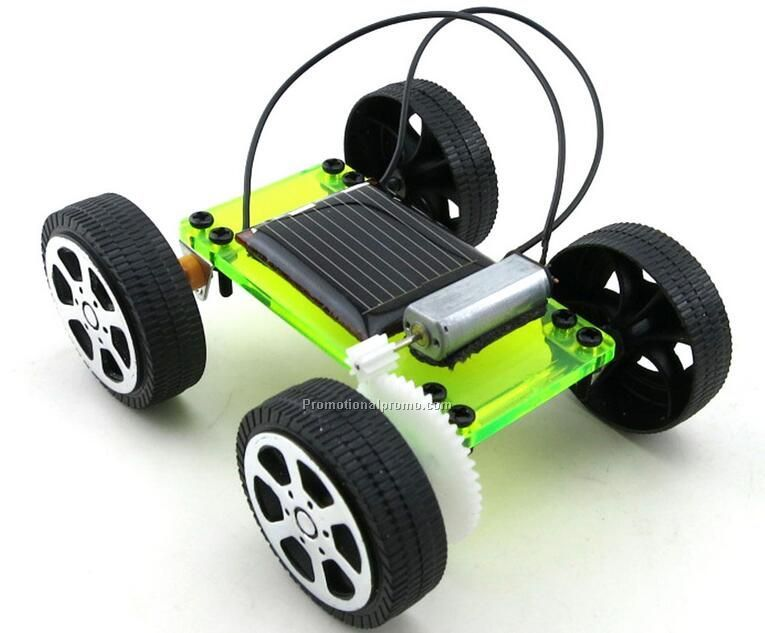 Educational DIY solar powered car