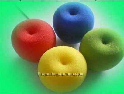 Mini apple sponge speaker