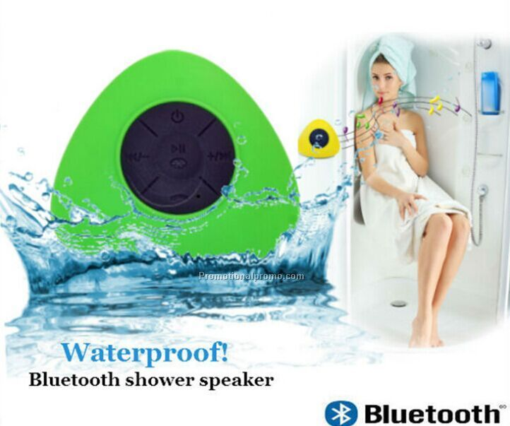 Mini Waterproof Bluetooth Shower Speaker With Sucker