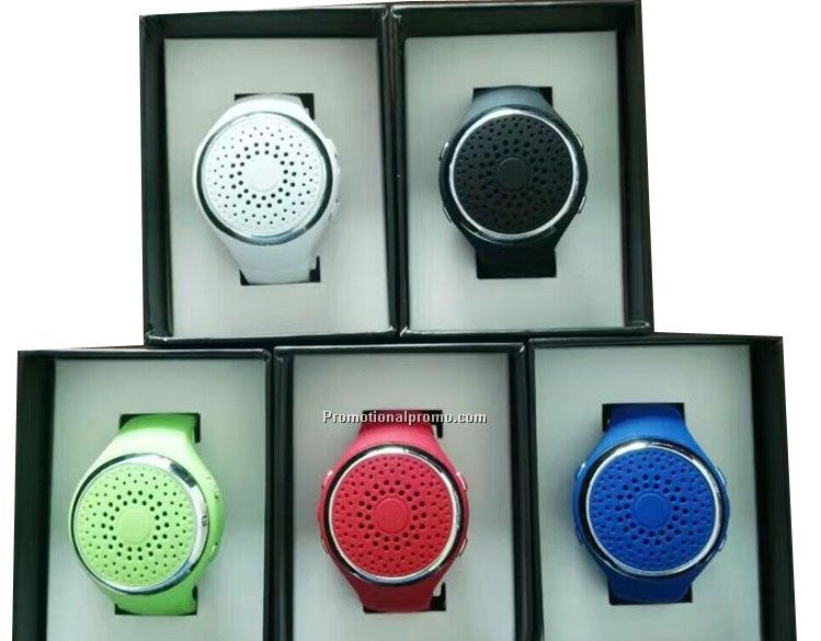 Portable Wireless Bluetooth Watch Speaker, Outdoor Sports Wireless Mini Speakers