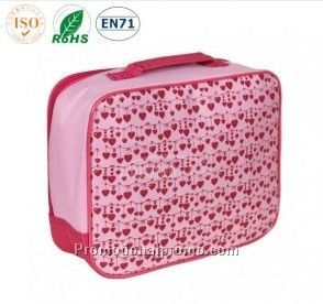 Lovely Pink Floral Pattern 6pks Cooler Lunch bag