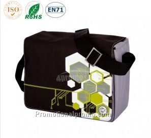 Flap-over 6pks Cooler Lunch Bag