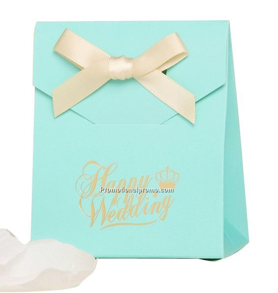 Blue Candy Bag For Wedding Party