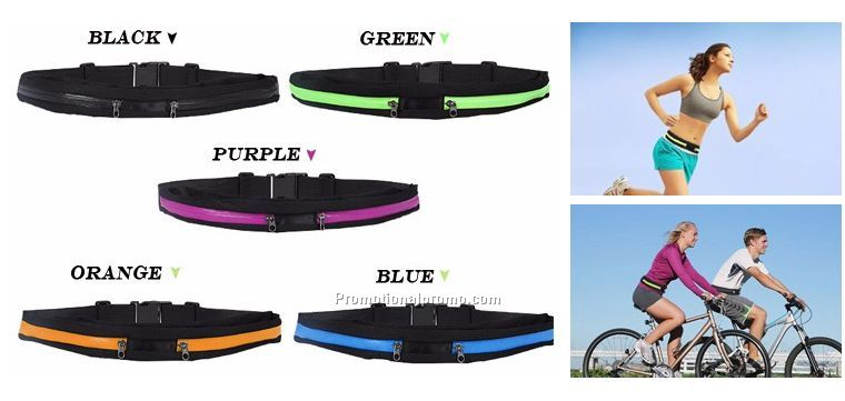 Wholesale Waist Bag Sport Running Waterproof belt Bag