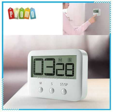 Mini LCD digital countdown timer, cooking kitchen timer