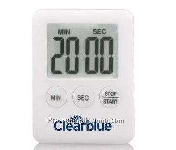 Plastic digital countdown timer