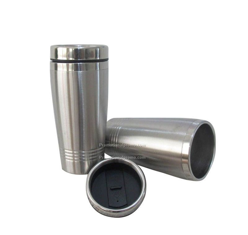 Double wall stainless steel mug, Stainless steel travel mug