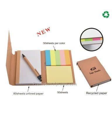Recycled Notepad With Ballpen